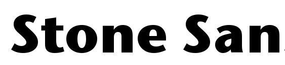 Stone Sans ITC Bold Font