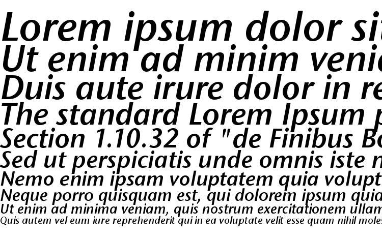 specimens Stone Sans ITC Semi Italic font, sample Stone Sans ITC Semi Italic font, an example of writing Stone Sans ITC Semi Italic font, review Stone Sans ITC Semi Italic font, preview Stone Sans ITC Semi Italic font, Stone Sans ITC Semi Italic font