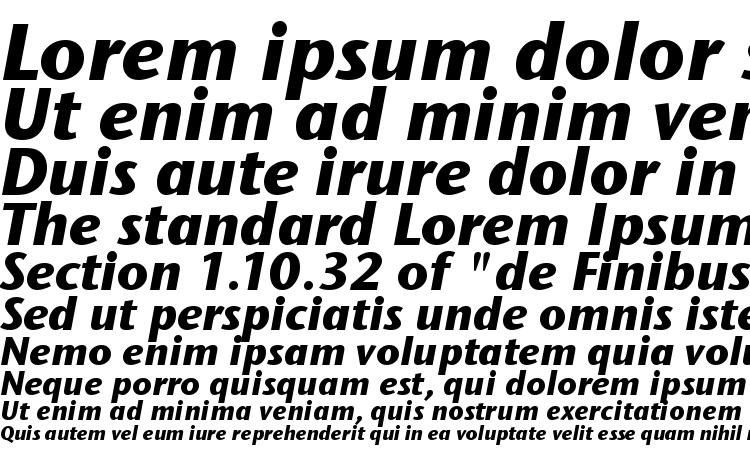 specimens Stone Sans ITC TT BoldItalic font, sample Stone Sans ITC TT BoldItalic font, an example of writing Stone Sans ITC TT BoldItalic font, review Stone Sans ITC TT BoldItalic font, preview Stone Sans ITC TT BoldItalic font, Stone Sans ITC TT BoldItalic font