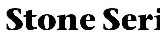 Stone Serif ITC Bold Font