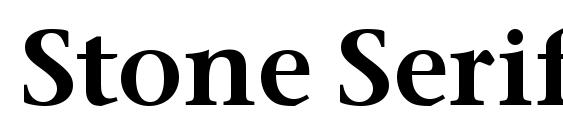 Stone Serif ITC Semi Font