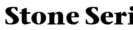 Stone Serif ITC TT Bold Font