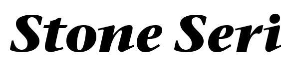 Stone Serif ITC TT BoldItalic Font
