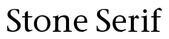 Stone Serif ITC TT Medium Font