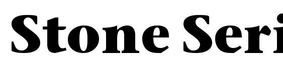 Шрифт Stone Serif OS ITC TT Bold