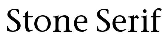 Stone Serif OS ITC TT Medium Font