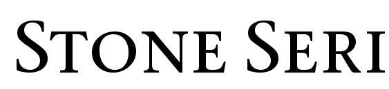 Stone Serif SC ITC TT Medium Font