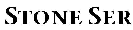 Шрифт Stone Serif Sem SC ITC TT Semi