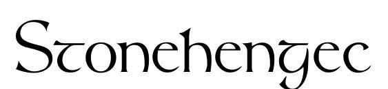 Шрифт Stonehengec