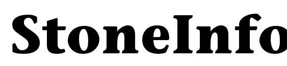 StoneInformalStd Bold Font