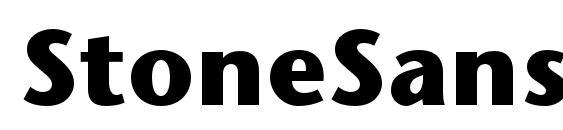 StoneSansStd Bold Font