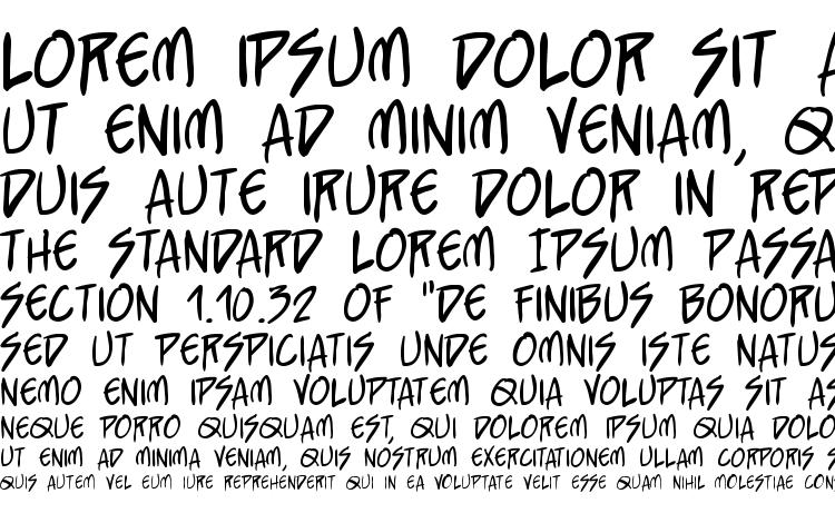 specimens StraightJacket BB font, sample StraightJacket BB font, an example of writing StraightJacket BB font, review StraightJacket BB font, preview StraightJacket BB font, StraightJacket BB font