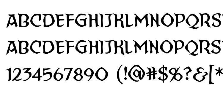 глифы шрифта StraightToHell BB, символы шрифта StraightToHell BB, символьная карта шрифта StraightToHell BB, предварительный просмотр шрифта StraightToHell BB, алфавит шрифта StraightToHell BB, шрифт StraightToHell BB