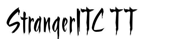Шрифт StrangerITC TT