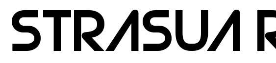 Strasua Regular Font