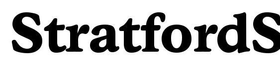 StratfordSerial Xbold Regular Font