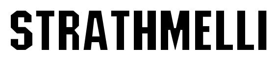 шрифт Strathmelli Lig, бесплатный шрифт Strathmelli Lig, предварительный просмотр шрифта Strathmelli Lig