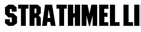 StrathmelliBld font, free StrathmelliBld font, preview StrathmelliBld font