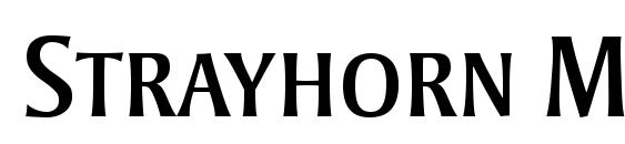 Strayhorn MT SC font, free Strayhorn MT SC font, preview Strayhorn MT SC font