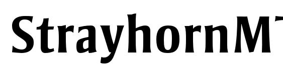 StrayhornMTStd Bold Font