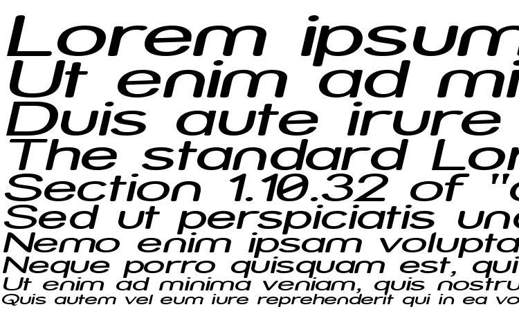 specimens Street Expanded Italic font, sample Street Expanded Italic font, an example of writing Street Expanded Italic font, review Street Expanded Italic font, preview Street Expanded Italic font, Street Expanded Italic font