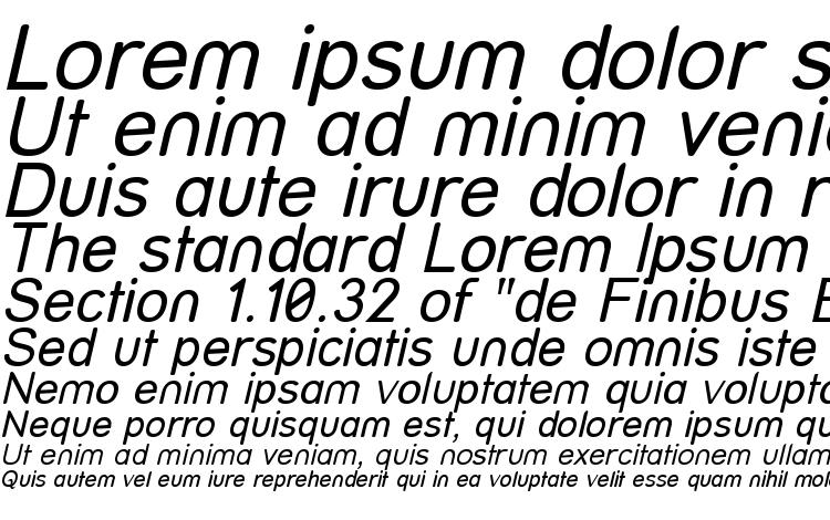 specimens Street Italic font, sample Street Italic font, an example of writing Street Italic font, review Street Italic font, preview Street Italic font, Street Italic font