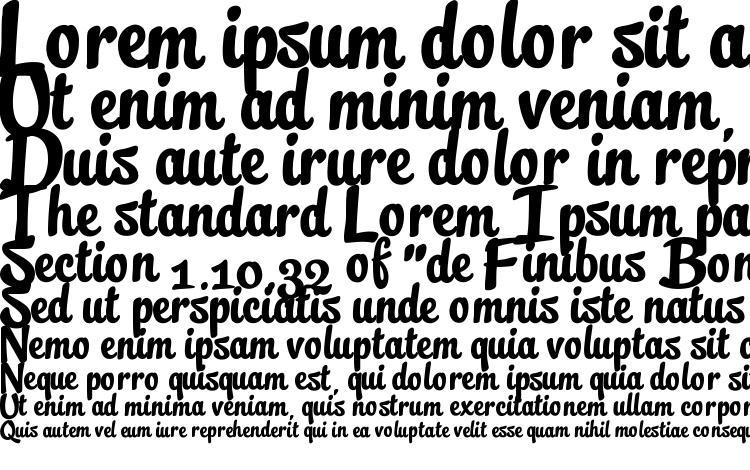 specimens Streetscript Free font, sample Streetscript Free font, an example of writing Streetscript Free font, review Streetscript Free font, preview Streetscript Free font, Streetscript Free font