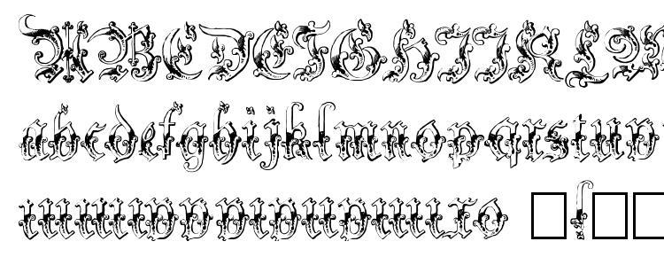 глифы шрифта Strelsau, символы шрифта Strelsau, символьная карта шрифта Strelsau, предварительный просмотр шрифта Strelsau, алфавит шрифта Strelsau, шрифт Strelsau