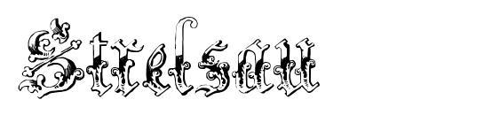 Strelsau Font