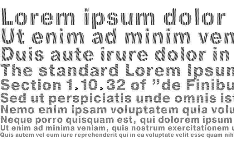 specimens Stripe DB font, sample Stripe DB font, an example of writing Stripe DB font, review Stripe DB font, preview Stripe DB font, Stripe DB font