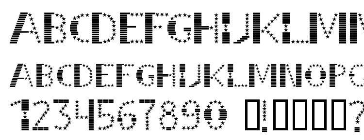 glyphs STRIPES & STARS Normal font, сharacters STRIPES & STARS Normal font, symbols STRIPES & STARS Normal font, character map STRIPES & STARS Normal font, preview STRIPES & STARS Normal font, abc STRIPES & STARS Normal font, STRIPES & STARS Normal font