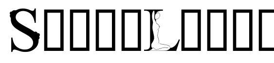 Шрифт StripLetter1