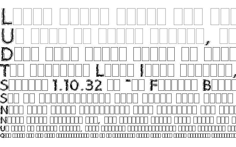 specimens Strobos LET Plain.1.0 font, sample Strobos LET Plain.1.0 font, an example of writing Strobos LET Plain.1.0 font, review Strobos LET Plain.1.0 font, preview Strobos LET Plain.1.0 font, Strobos LET Plain.1.0 font