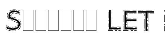 Strobos LET Plain.1.0 Font