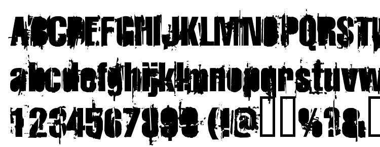 глифы шрифта Strokeybacon, символы шрифта Strokeybacon, символьная карта шрифта Strokeybacon, предварительный просмотр шрифта Strokeybacon, алфавит шрифта Strokeybacon, шрифт Strokeybacon