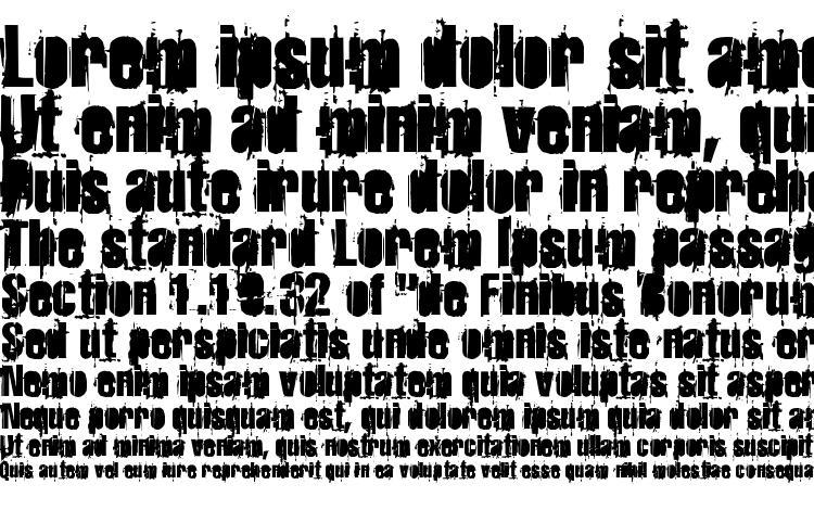 specimens Strokeybacon font, sample Strokeybacon font, an example of writing Strokeybacon font, review Strokeybacon font, preview Strokeybacon font, Strokeybacon font