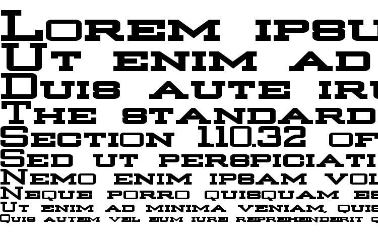 specimens Strongman Bold font, sample Strongman Bold font, an example of writing Strongman Bold font, review Strongman Bold font, preview Strongman Bold font, Strongman Bold font
