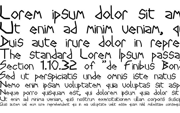 specimens Stryx font, sample Stryx font, an example of writing Stryx font, review Stryx font, preview Stryx font, Stryx font