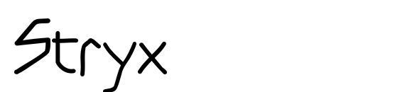 Stryx Font