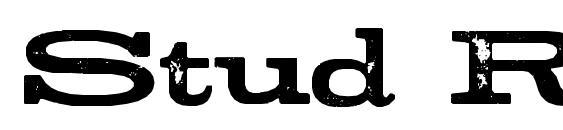 Шрифт Stud Regular