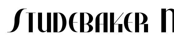 Studebaker NF Font