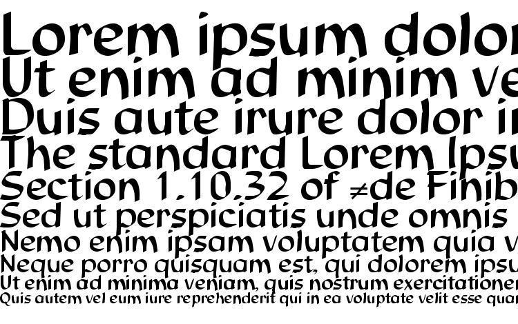specimens Studio DB font, sample Studio DB font, an example of writing Studio DB font, review Studio DB font, preview Studio DB font, Studio DB font