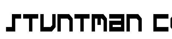 Stuntman Condensed Font