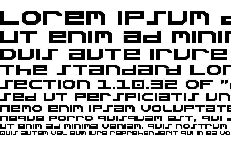 specimens Stuntman Expanded font, sample Stuntman Expanded font, an example of writing Stuntman Expanded font, review Stuntman Expanded font, preview Stuntman Expanded font, Stuntman Expanded font