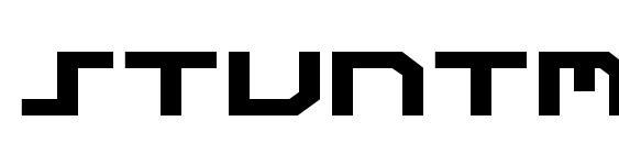 Stuntman Expanded Font