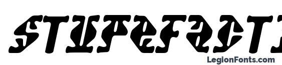 Шрифт Stupefaction