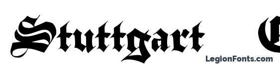 Шрифт Stuttgart Gothic Demo