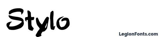 Шрифт Stylo