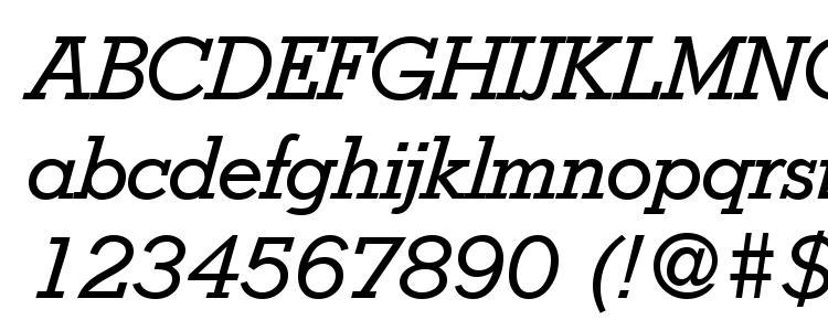 глифы шрифта Stymie Italic, символы шрифта Stymie Italic, символьная карта шрифта Stymie Italic, предварительный просмотр шрифта Stymie Italic, алфавит шрифта Stymie Italic, шрифт Stymie Italic
