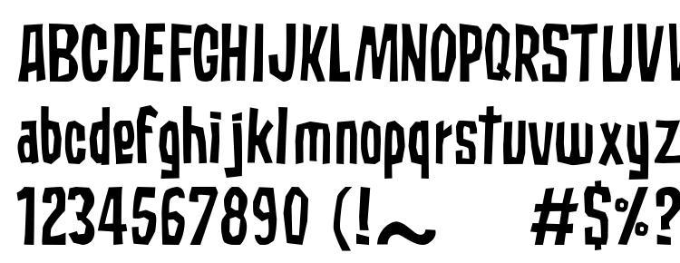 глифы шрифта Subaccuz normal, символы шрифта Subaccuz normal, символьная карта шрифта Subaccuz normal, предварительный просмотр шрифта Subaccuz normal, алфавит шрифта Subaccuz normal, шрифт Subaccuz normal